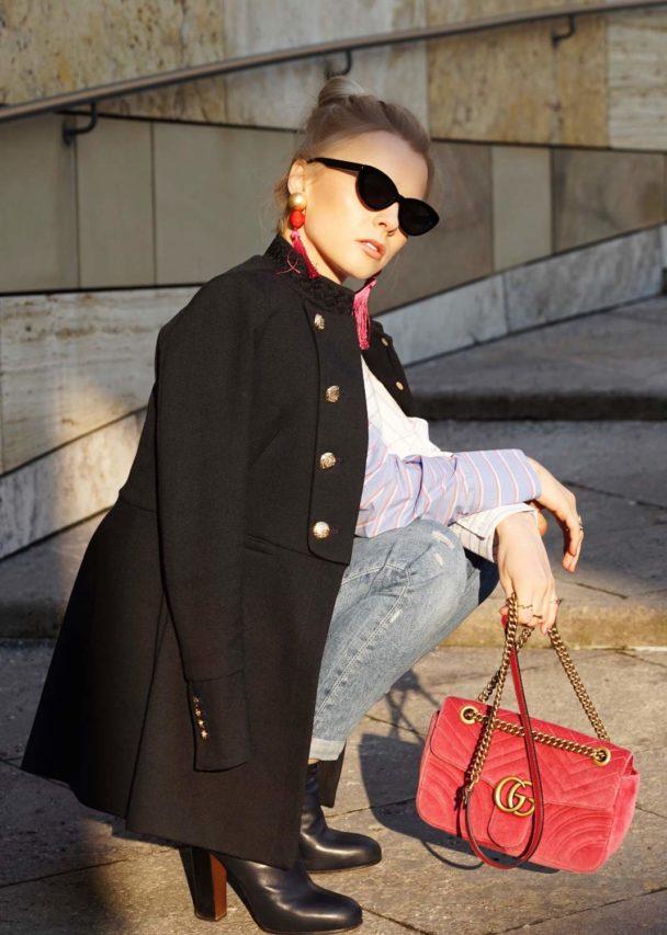 fashion blogger inessafashioness gucci style