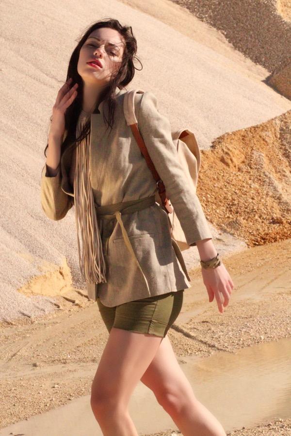 How To Rock The Safari Look With Ekaterina Sergeeva
