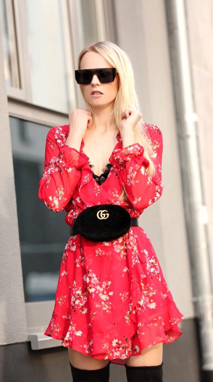marvellous gucci belt bag outfit 11