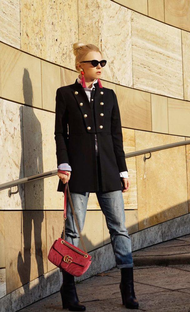 Pink Velvet Bag GG